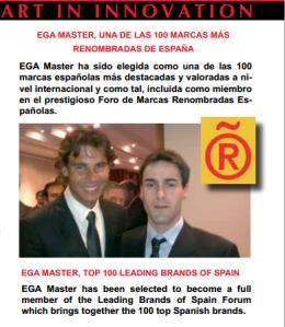 Egamaster 100 empresas más importantes en España